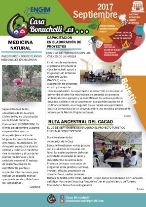 Boletín Septiembre 3-01